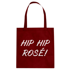 Tote Hip Hip Rose! Canvas Tote Bag