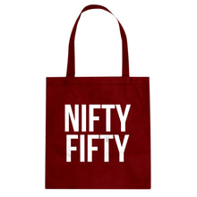 Tote Nifty Fifty Canvas Tote Bag