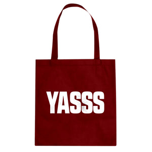 Tote Yasss Canvas Tote Bag