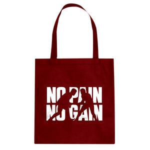 Tote No Pain No Gain Canvas Tote Bag