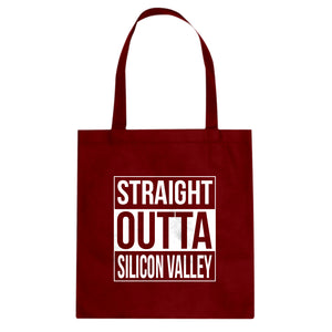 Tote Straight Outta Silicon Valley Canvas Tote Bag