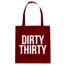 Tote Dirty Thirty Canvas Tote Bag