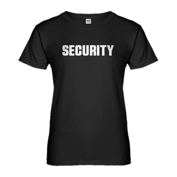 Womens Security Ladies' T-shirt