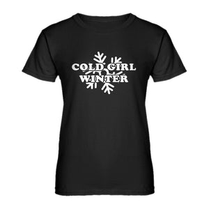 Womens Cold Girl Winter Ladies' T-shirt
