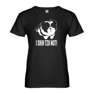 Womens I Shih Tzu Not Ladies' T-shirt