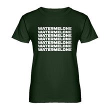Womens Watermelone Ladies' T-shirt