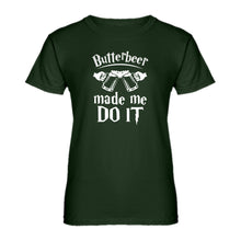Womens Butterbeer Made Me Do It Ladies' T-shirt