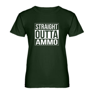 Womens Straight Outta Ammo Ladies' T-shirt