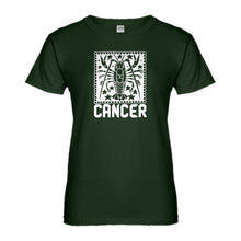 Womens Cancer Zodiac Astrology Ladies' T-shirt