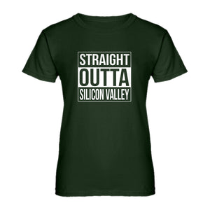 Womens Straight Outta Silicon Valley Ladies' T-shirt