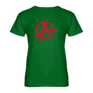 Womens Anarchy Ladies' T-shirt