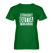 Womens Straight Outta Wakanda Ladies' T-shirt