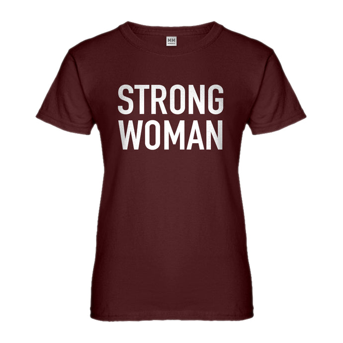 Womens Strong Woman Ladies' T-shirt