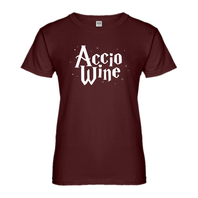 Womens Accio Wine Ladies' T-shirt