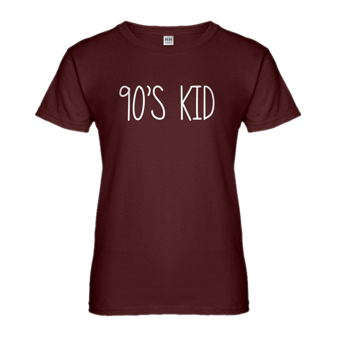 Womens 90s Kid Ladies' T-shirt