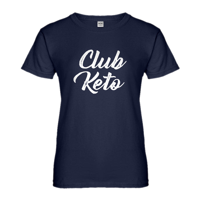 Womens Club Keto Ladies' T-shirt