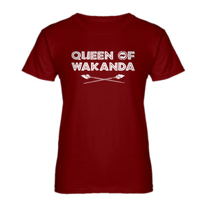 Womens Queen of Wakanda Ladies' T-shirt
