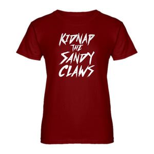 Womens Kidnap the Sandy Claws Ladies' T-shirt