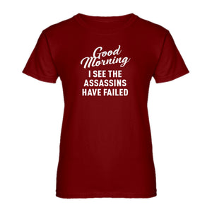 Womens Good Morning Ladies' T-shirt