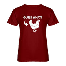 Womens Chicken Butt Ladies' T-shirt