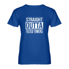 Womens Straight Outta Tilted Towers Ladies' T-shirt