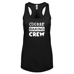 Cookie Baking Crew Womens Racerback Tank Top