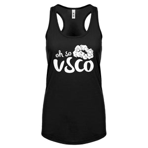 Oh So VSCO Womens Racerback Tank Top