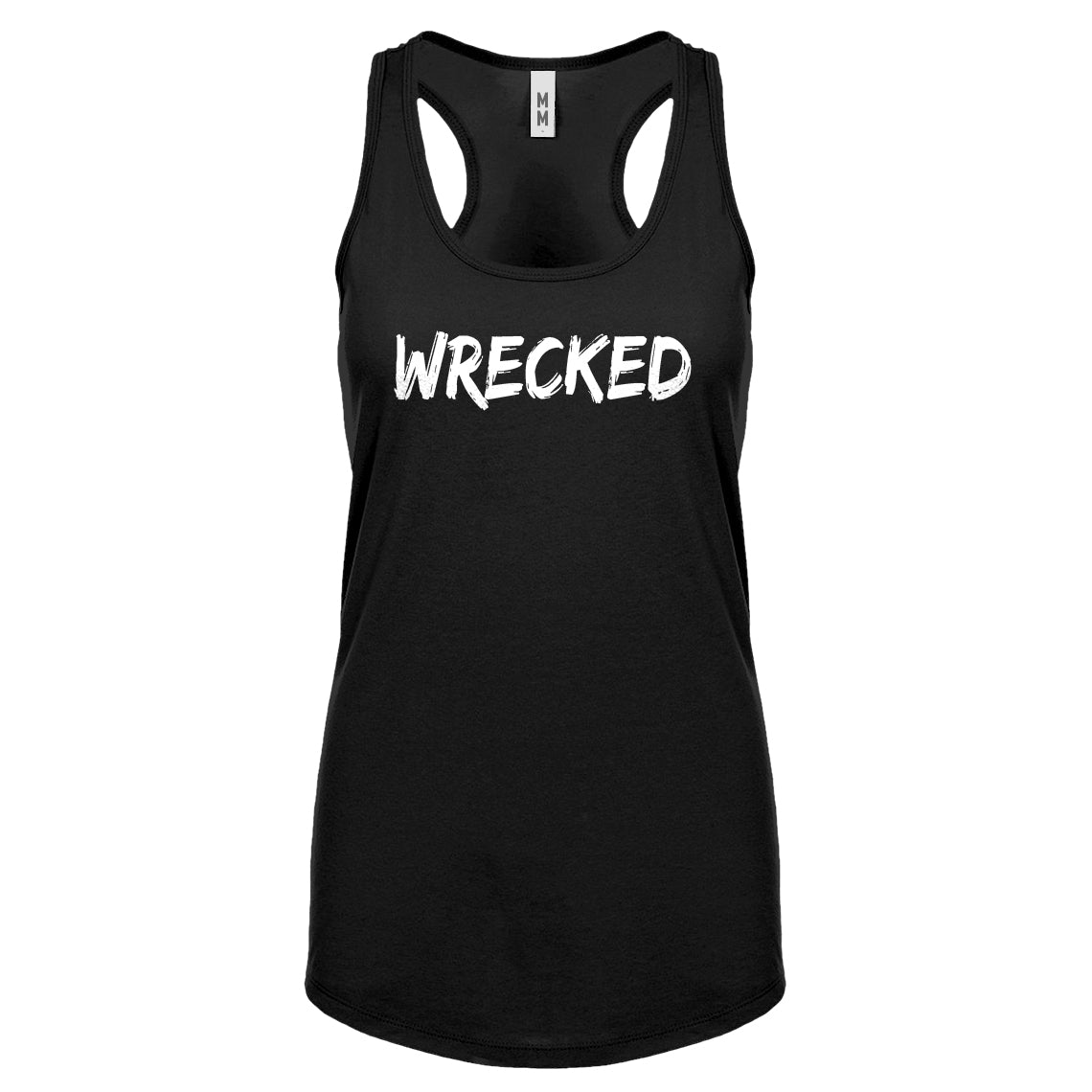 Racerback Wrecked Womens Tank Top