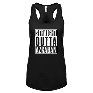 Racerback Straight Outta Azkaban Womens Tank Top