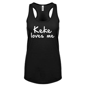 Keke Loves Me Womens Racerback Tank Top