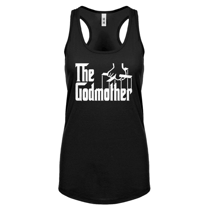 The Godmother Womens Racerback Tank Top