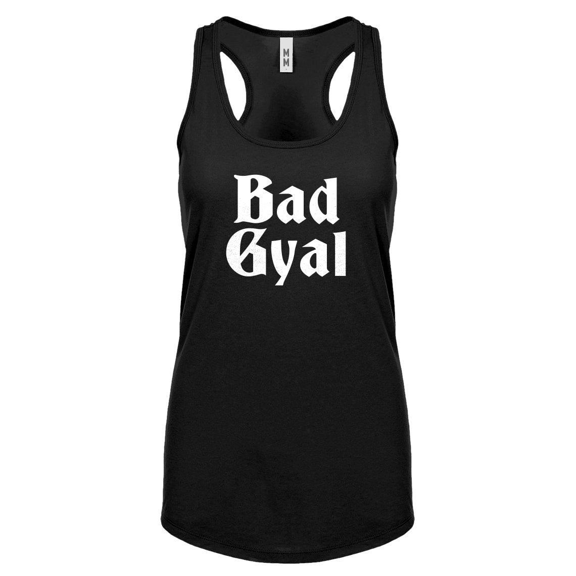 Bad Gyal Womens Racerback Tank Top