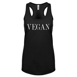 Racerback Vegan Vogue Womens Tank Top