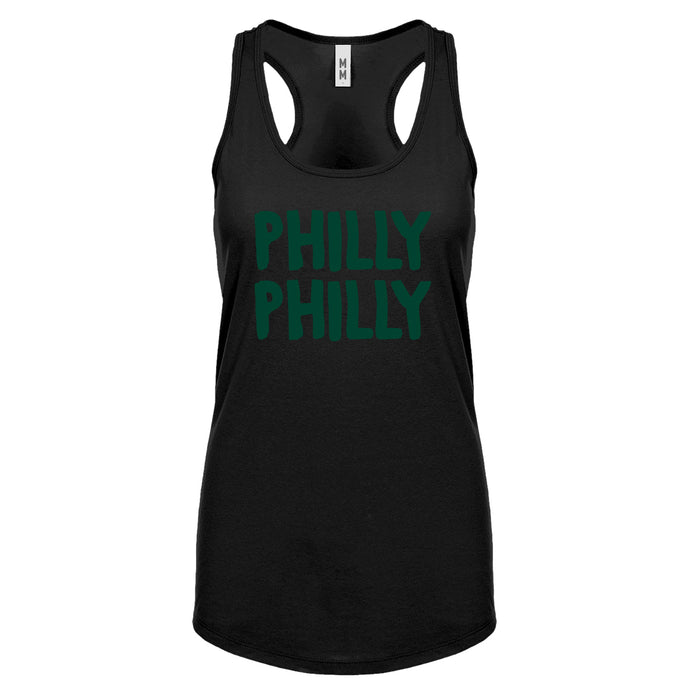 Racerback Philly Philly Womens Tank Top