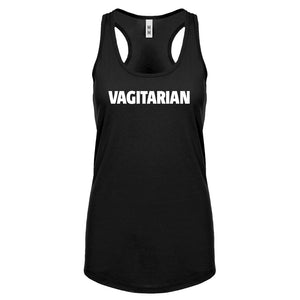 Racerback Vagitarian Womens Tank Top