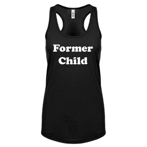 Former Child Womens Racerback Tank Top