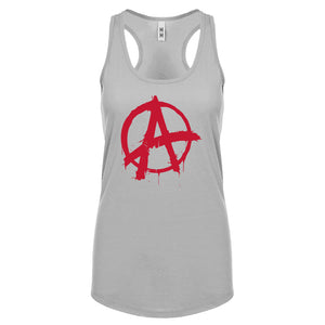 Racerback Anarchy Womens Tank Top