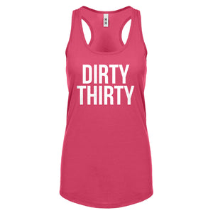 Racerback Dirty Thirty Womens Tank Top
