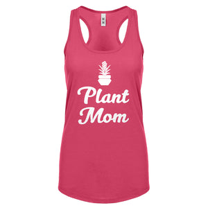 Racerback Plant Mom Womens Tank Top
