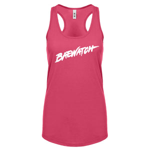 Racerback Baewatch Womens Tank Top