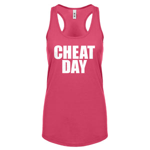 Racerback Cheat Day Womens Tank Top
