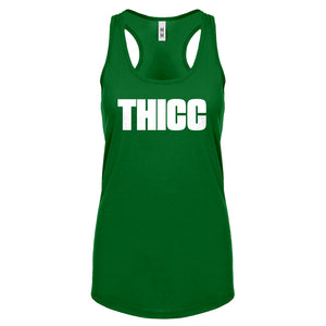 Racerback THICC Womens Tank Top
