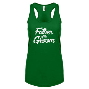 Father of the Groom Womens Racerback Tank Top