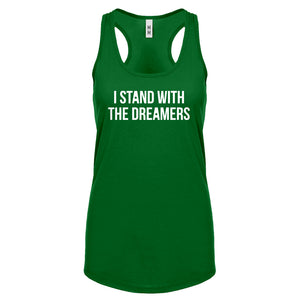 Racerback Stand With the Dreamers Womens Tank Top