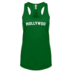 Hollywoo Womens Racerback Tank Top