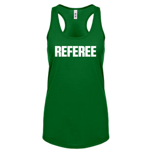 Racerback Referee Womens Tank Top