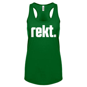 Racerback REKT Womens Tank Top