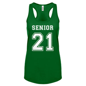 Racerback Senior 2021 Womens Tank Top