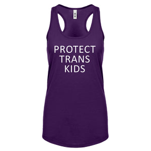 Protect Trans Kids Womens Racerback Tank Top