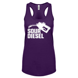Racerback Sour Diesel Womens Tank Top
